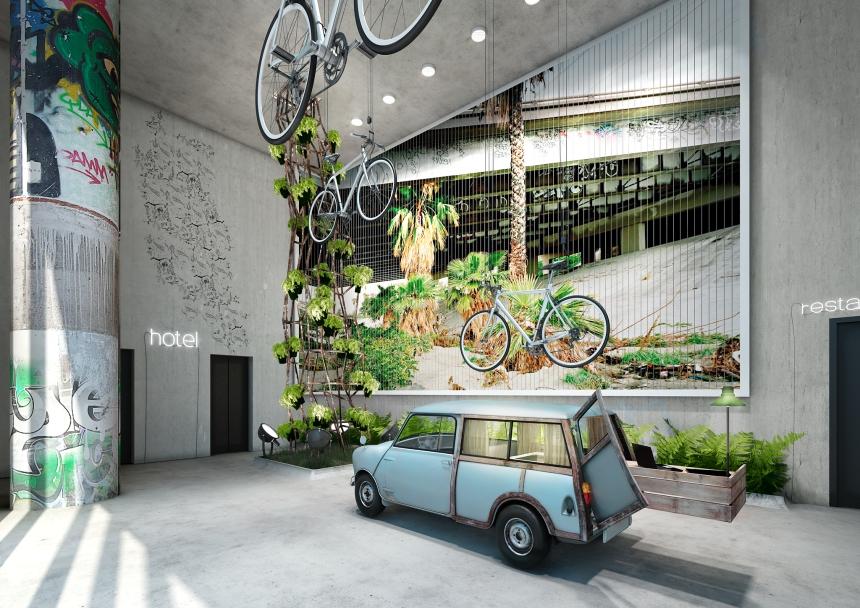 Bild: Hotel-Eingang, Stephanlemke.com für 25hours Hotels